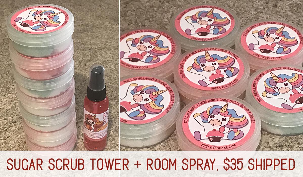 Sugar Scrub Tower