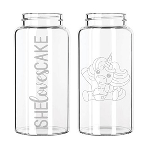 Sugarbutt GLASS Water Bottles